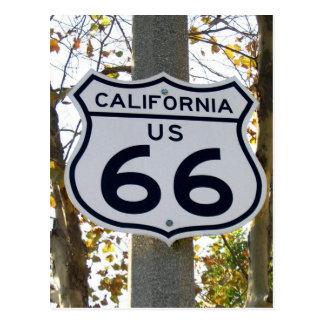 California 66 Postcard