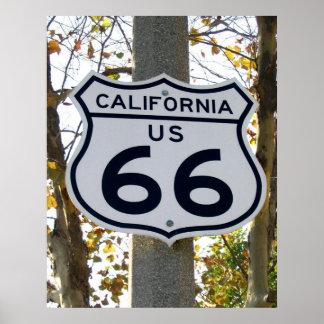 California 66 poster