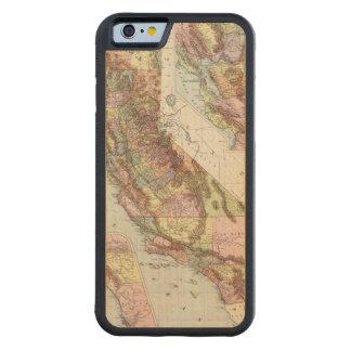 California 8 carved maple iPhone 6 bumper case