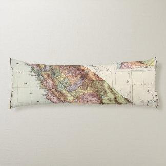 California 8 body pillow