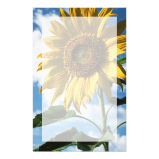 California, A Mammoth Sunflower (Helianthus) 2 Stationery