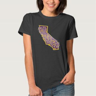 California Abstract T Shirt