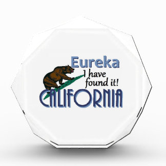 CALIFORNIA ACRYLIC AWARD