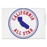 California All Star Tarjeton