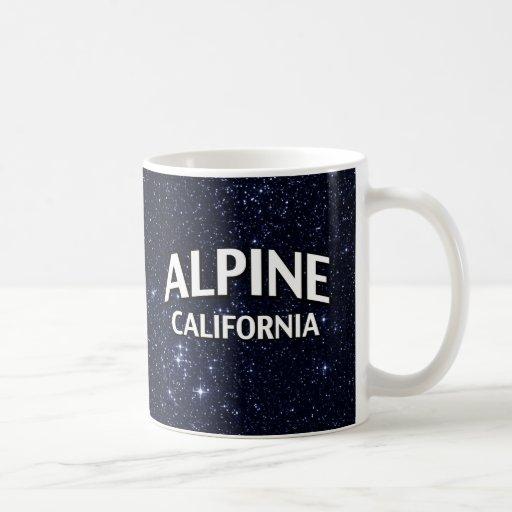 California alpina taza de café