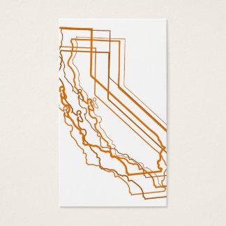 california amber blur business card
