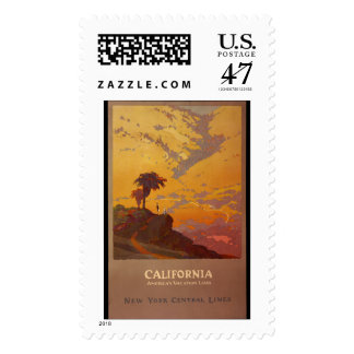 California. America's Vacation Land Postage