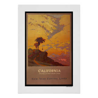 California. America's Vacation Land Poster