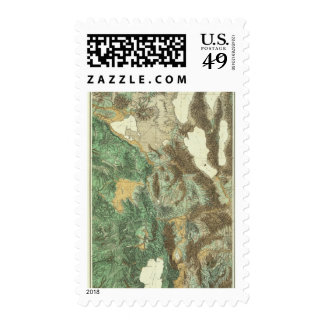 California and Nevada 2 Postage Stamp