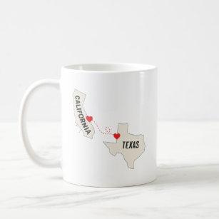 Texas California Coffee Travel Mugs Zazzle