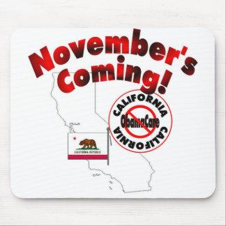 California Anti ObamaCare – November's Coming! Mousepads