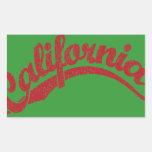 California apenó el logotipo de la escritura en
