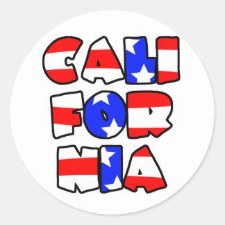 California apiló - al pegatina