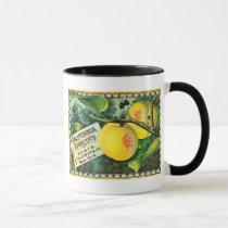 California Apricots - Vintage Crate Label Mug