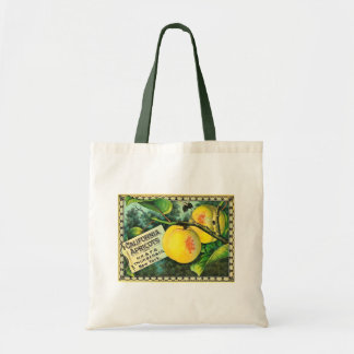 California Apricots - Vintage Crate Label Tote Bag