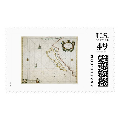 California as an Island Postage
