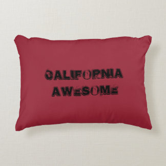 California Awesome Quote Accent Pillow