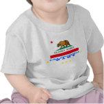 california baby + flag t shirts