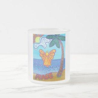 California Beach Angel Mug
