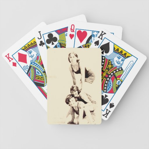 California Beach Babes playing cards