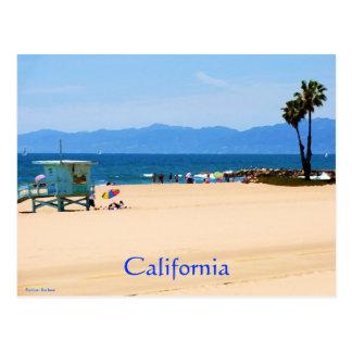 California Beach  California Postcard