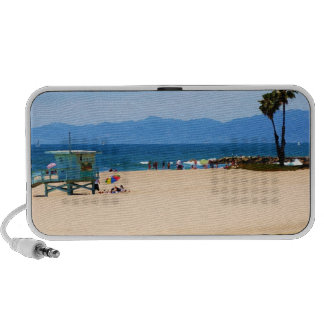 California Beach iPod Speakers
