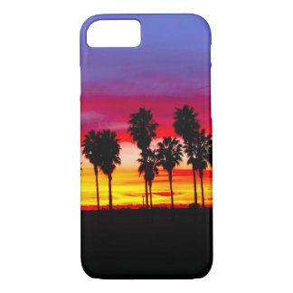 California Beach Palm Trees iPhone 7 Case