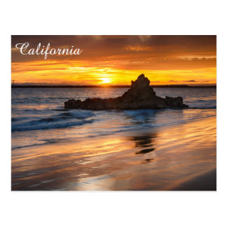 California Beach Postcard