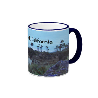 California Beach Pretty Coastal Sunsets Mugs