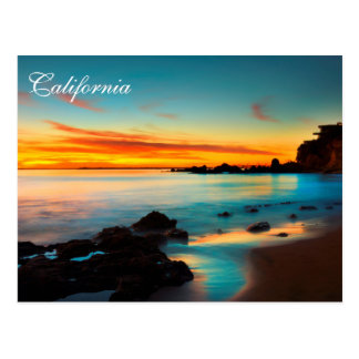 California Beach Scene Postcards