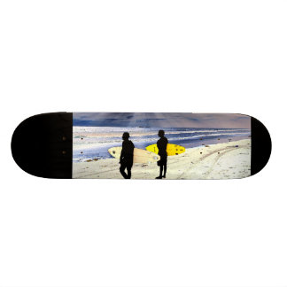 California Beach Surfer Surfing Ocean Waves Sea Skateboard