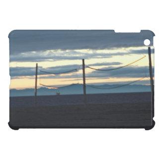 California Beach Volleyball Net Sunset Photo Case For The iPad Mini