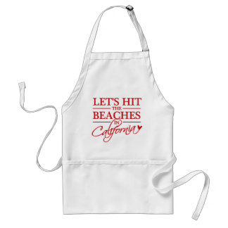 California Beaches aprons