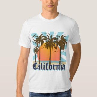 California Beaches Sunset T Shirts