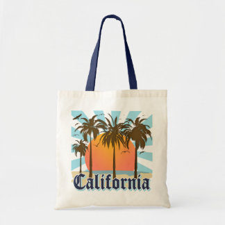 California Beaches Sunset Tote Bag