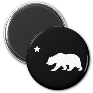 California Bear 2 Inch Round Magnet