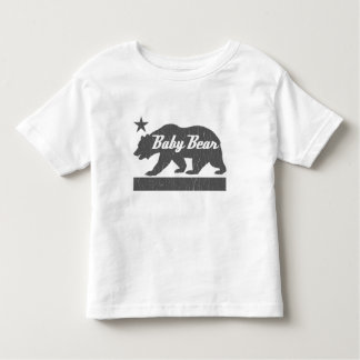 California Bear Family (BABY Bear) Toddler T-shirt