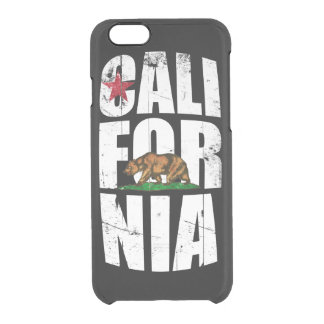 California Bear Flag Uncommon Clearly™ Deflector iPhone 6 Case
