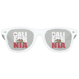 CALIFORNIA BEAR FLAG - RETRO SUNGLASSES