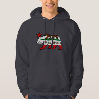 California Bear Flag (vintage distressed) Pullover