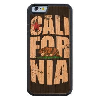 California Bear Flag Carved® Cherry iPhone 6 Bumper Case