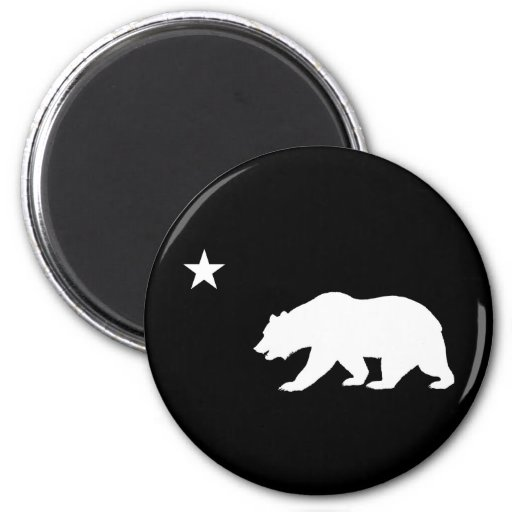California Bear Fridge Magnets