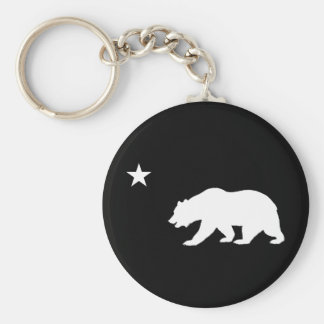 California Bear Keychain