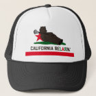 California Bear Lacrosse Trucker Hat