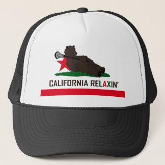 California Bear Lacrosse Trucker Hat