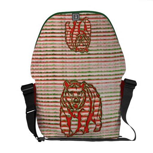 California Bear messenger bag