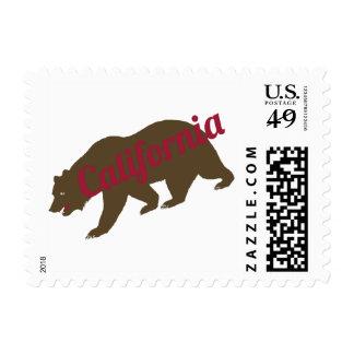 California Bear Postage