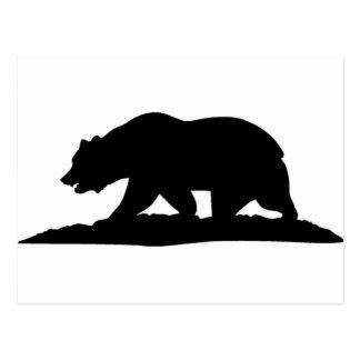 California Bear Postcard