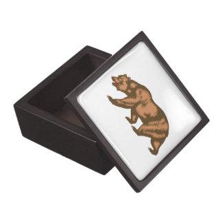 California Bear Premium Keepsake Box
