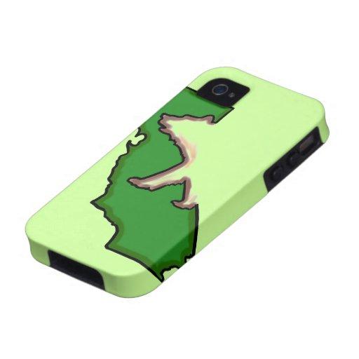 California bear state symbol green iphone case Case-Mate iPhone 4 case